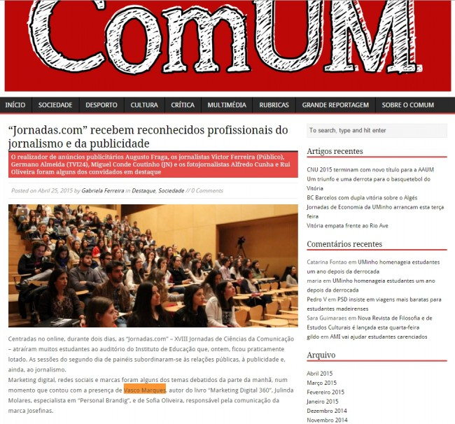 blog comum