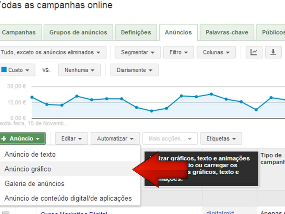 criar banners facilmente display google vasco marques marketing digital