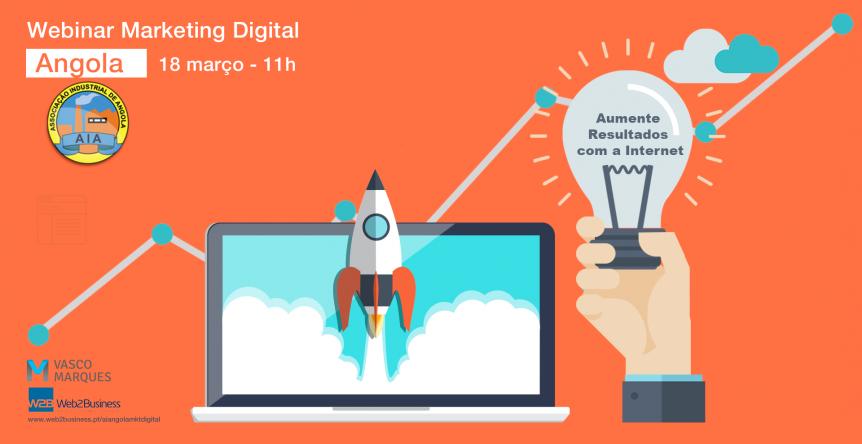 webinar marketing digital Angola